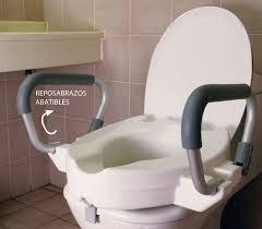 alza baño con tapa y reposabrazos