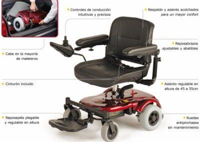 silla ruedas electrica r120
